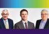 Andrew Hitt, Mickey Foti and Evan Zeppos
