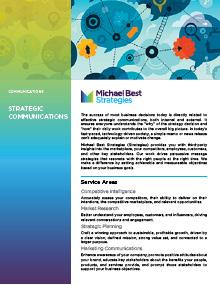 Strategic Communications PDF