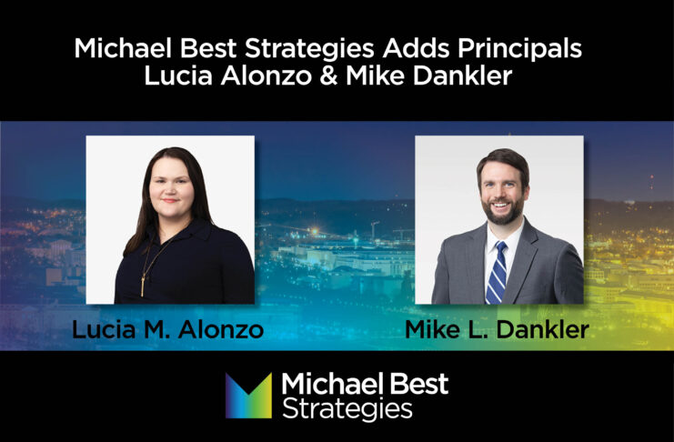 Lucia Alonzo and Mike Dankler
