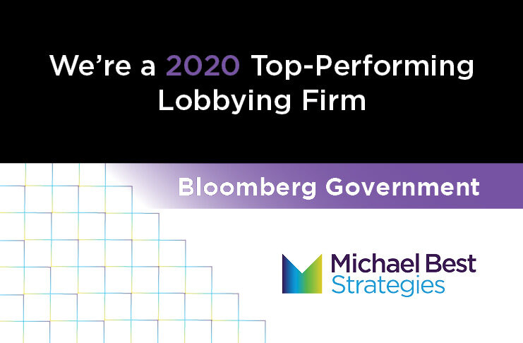 Michael Best Strategies Ranked Among Top Lobbying Firms by Bloomberg Government