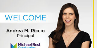 Michael Best Strategies Adds Andrea Riccio to Government Relations Group in Washington, D.C.